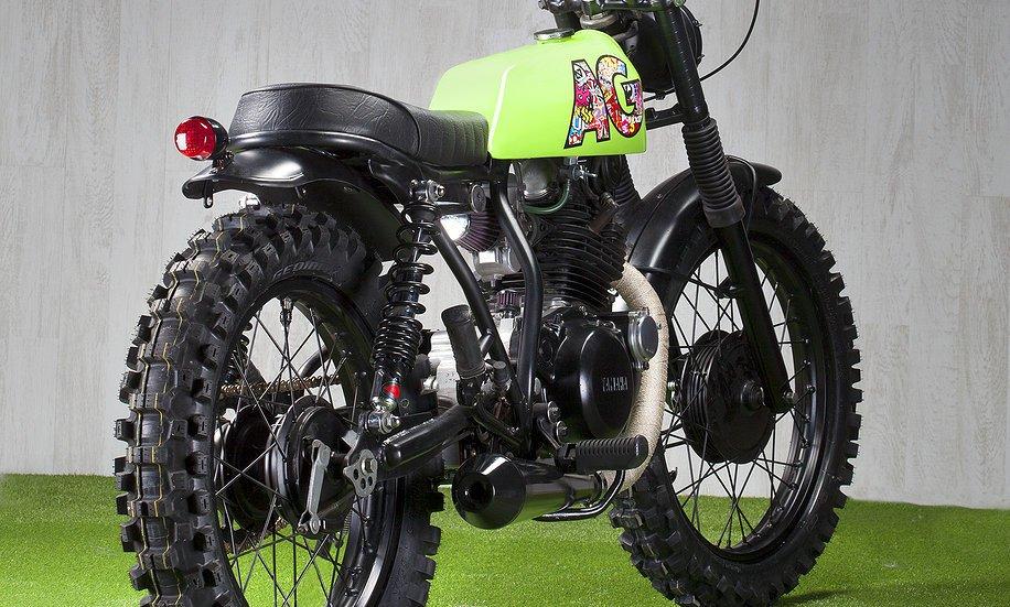 Yamaha SR 250 1989 AG HOC (ADHOC) 10
