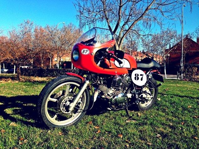 Yamaha Virago 750 Cafe racer (Garbur Garage 87) 50
