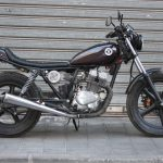 Honda CB 250 Cheap Tracker (Wheels Garaje) 34