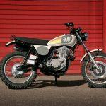 Yamaha SR 400. Rescatada para ser modificada. 9