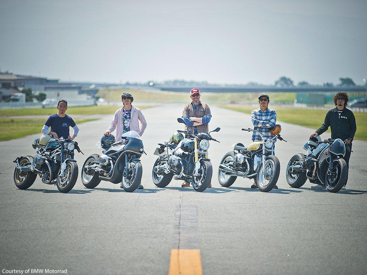 Cuatro proyectos sobre la BMW R nineT. BMW Motorrad Japan 51
