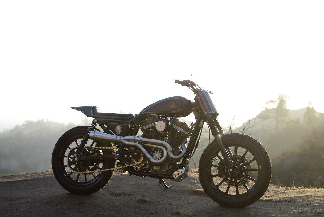 """Harley Davidson Sportster """"Pata Negra"""" Tracker (Brawny Built) 40"""