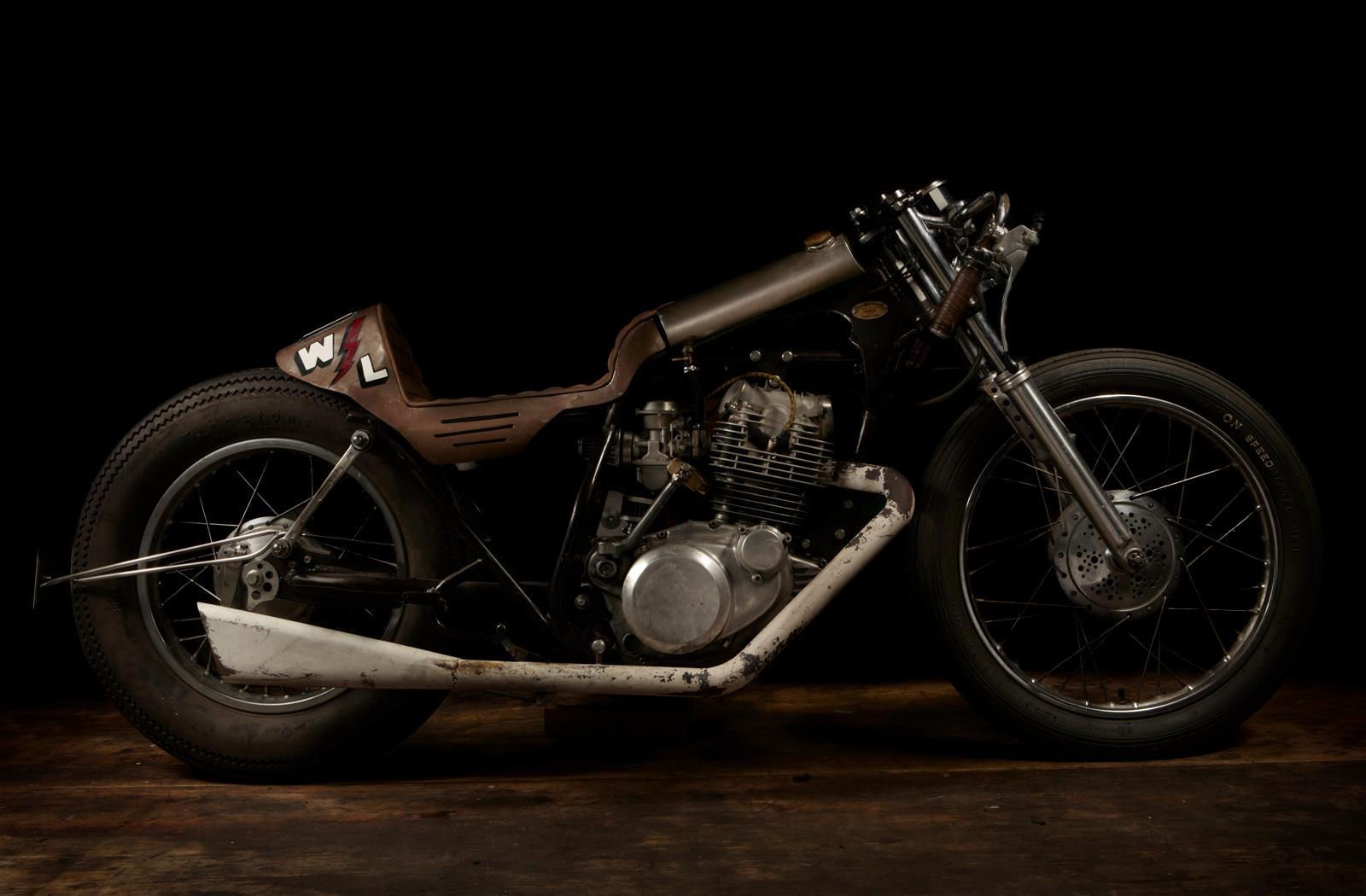 "Yamaha SR 250 ""The Winning Loser"" (El Solitario MC) 20"