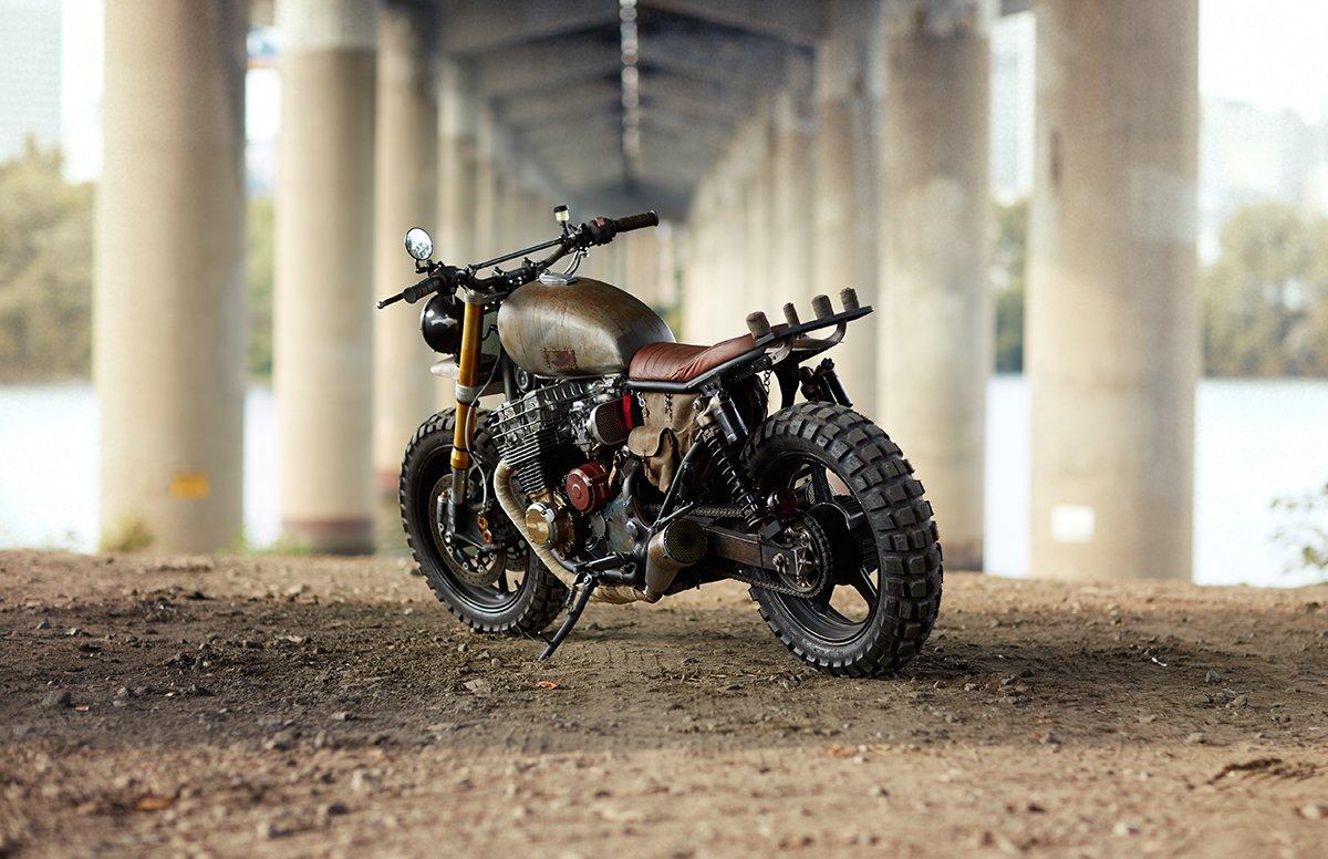 Honda CB750 Nighthawk - Daryl Dixon The Walking Dead (CLASSIFIED MOTO) 10
