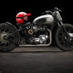 "Triumph T120 ""Eastside Bobber"" (Southsiders MC) 16"