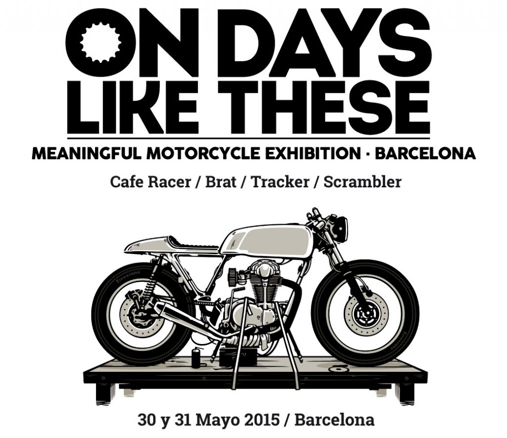 On Days Like These 2015 - 30 y 31 Mayo Barcelona 2