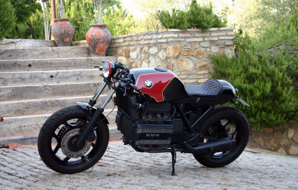 bmw k100 lt the biker special caferaceros. Black Bedroom Furniture Sets. Home Design Ideas