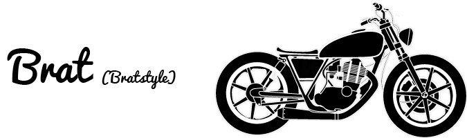 Moto Brat Brat style