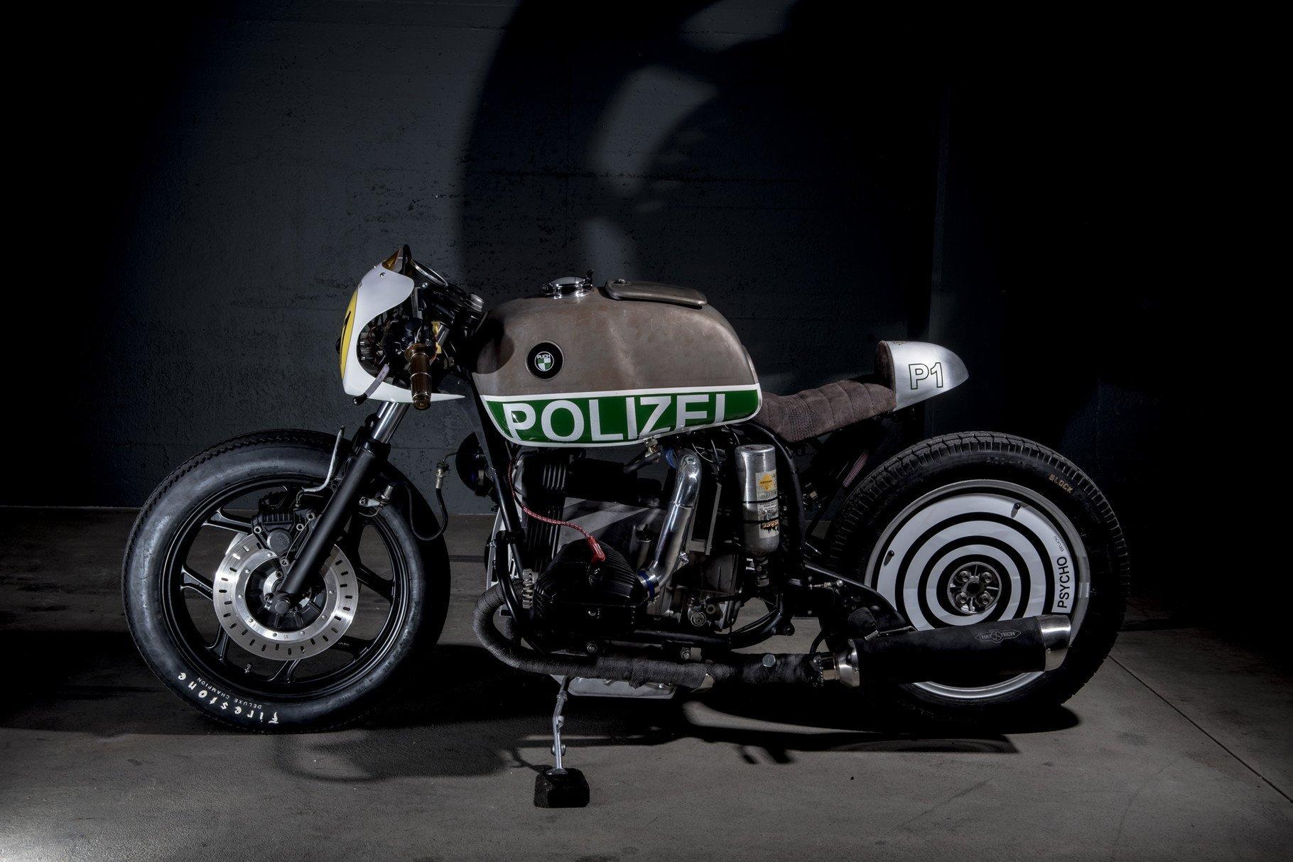 "BMW R80 RT ""Polizia UNO P1"" (VTR Customs) 58"
