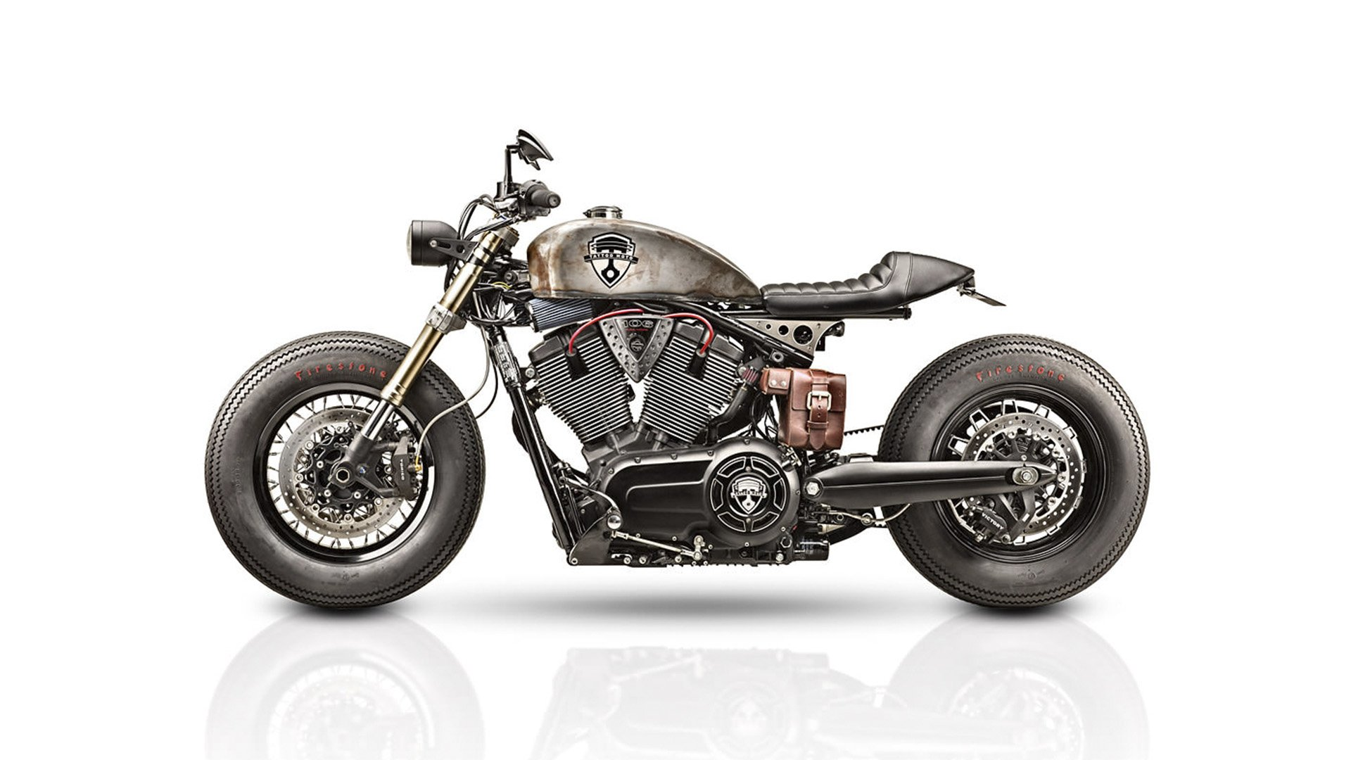 Victory Gunner Cafe Racer Tattoo Moto Caferaceros