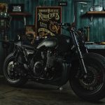 "Yamaha XJR 1300 Tracker ""Guerrilla Four"" (Rough Crafts) 26"