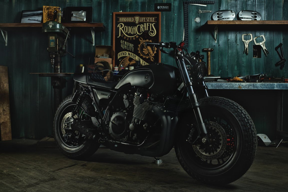 "Yamaha XJR 1300 Tracker ""Guerrilla Four"" (Rough Crafts) 36"
