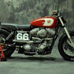 "Harley Davidson Dyna Super Glide ""Gabrielle"" (XTR Pepo) © CafeRaceros.com"