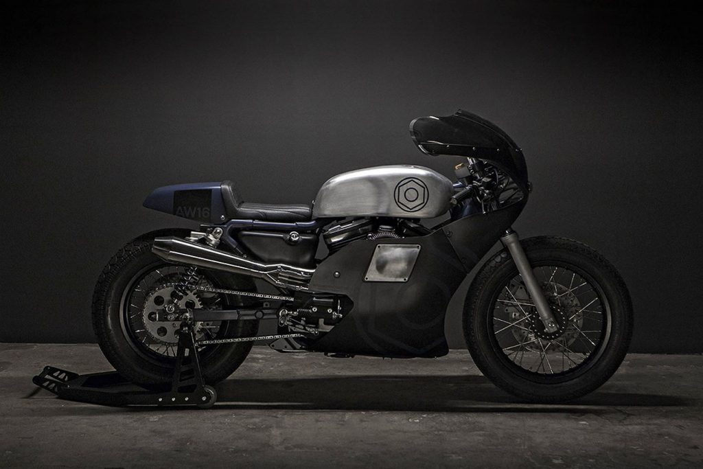"Harley Davidson Sportster 883 ""AW16"" (Wrenchmonkees) - CafeRaceros"