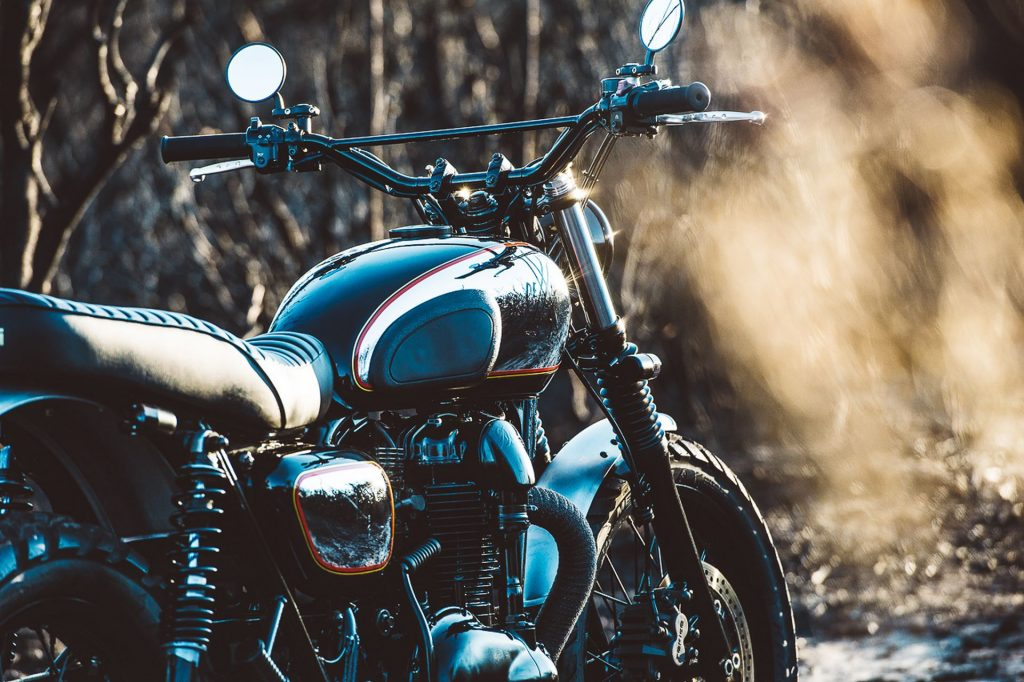 "Kawasaki W650 ""The Wishbones"" (Deus Ex Machina) - caferaceros.com"