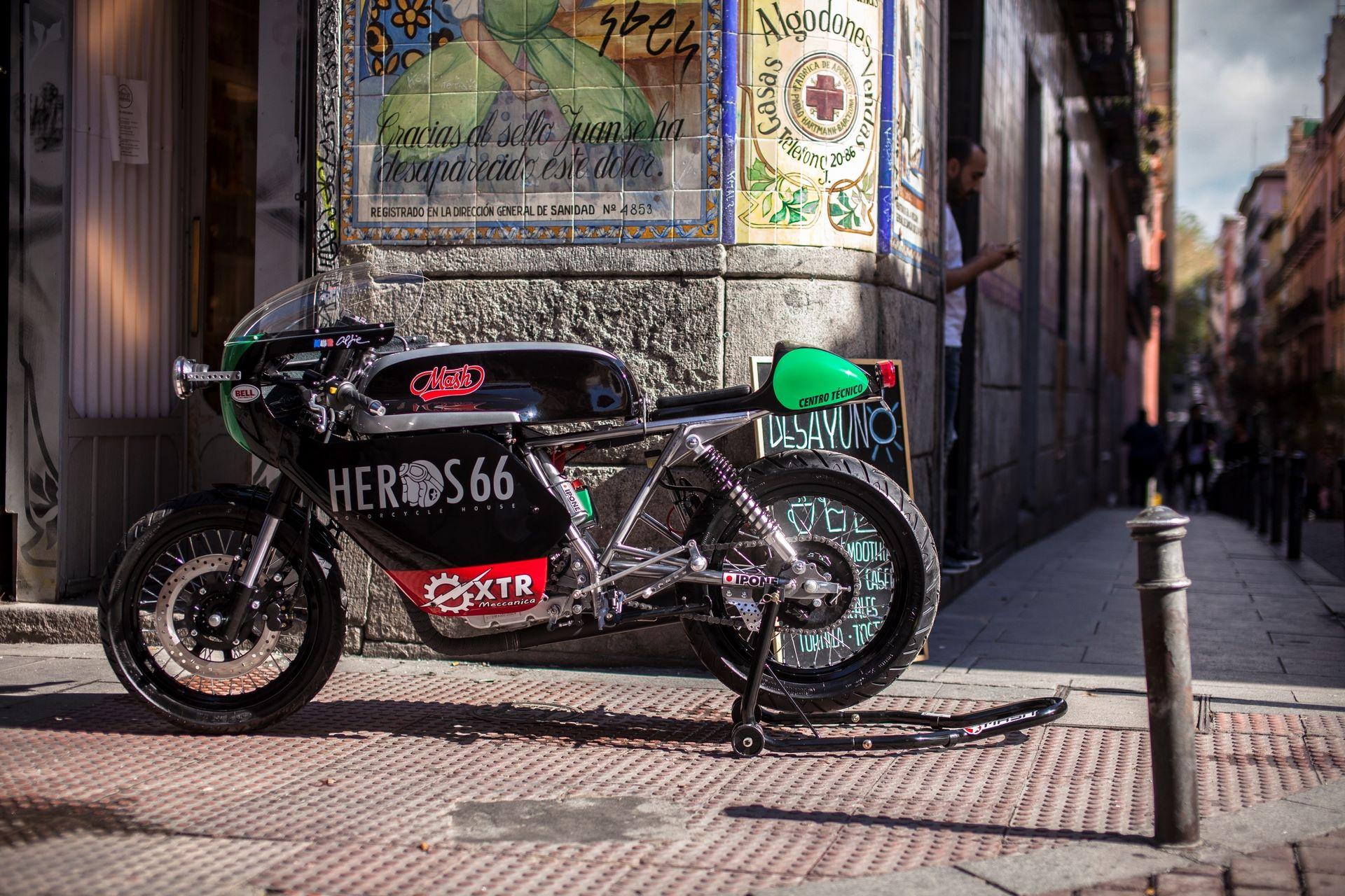 caferaceros - motos cafe racer, scrambler, brat, bobber, tracker