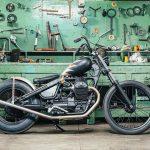 """Moto Guzzi V7 """"Raise Hell"""" Bobber (Anvil Motociclette) - CafeRaceros"""