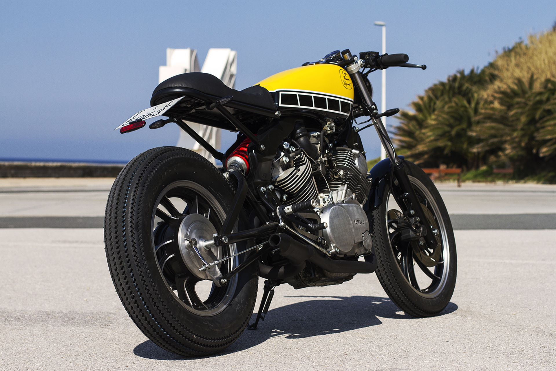 Yamaha Xv Cafe Racer