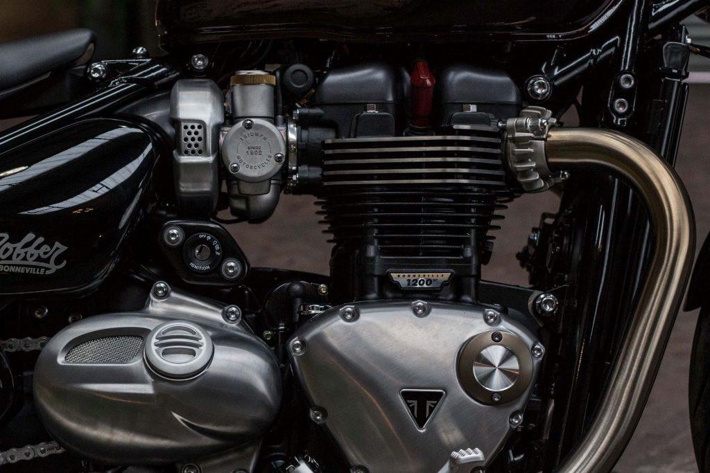 Triumph Bonneville Bobber, belleza brutal europea - CafeRaceros