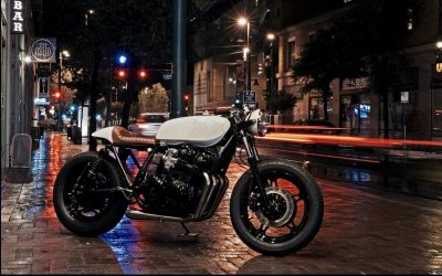 "Honda CB750 ""Marilyn"" Cafe Racer (Brogue Motorcycles) - CafeRaceros"