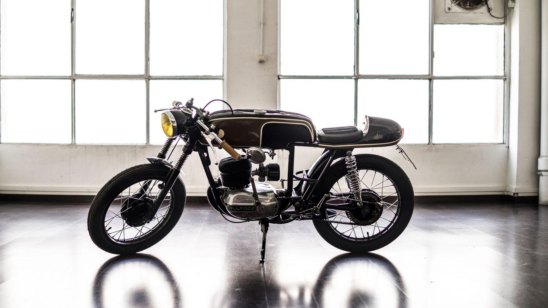 """Bultaco Mercurio """"Black Summer Night"""" (Gas Department) 54"""