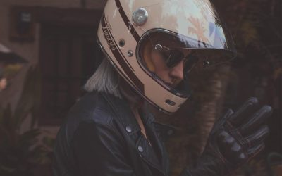 Casco integral retro By City Roadster 12